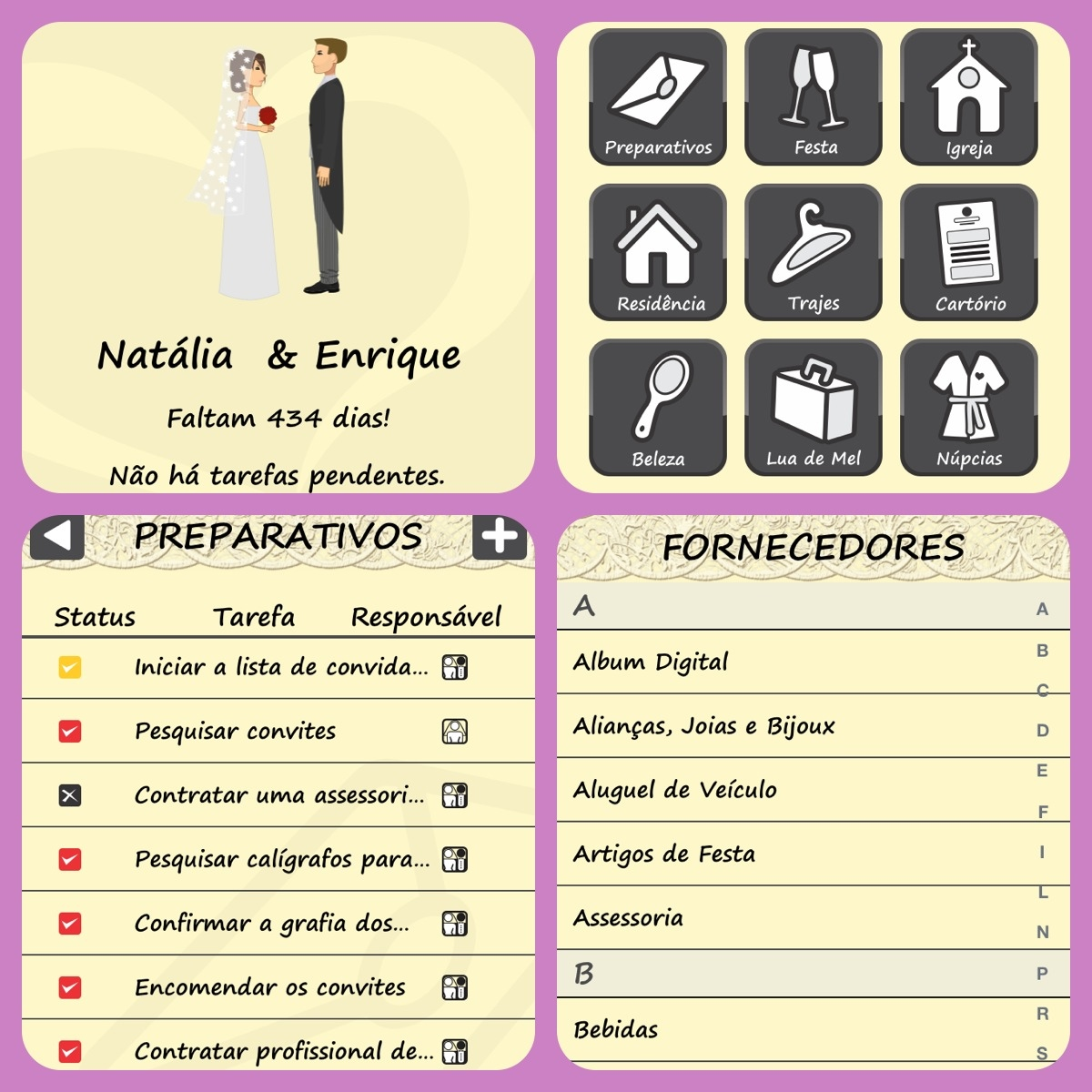 Check List O Casamento Ideal